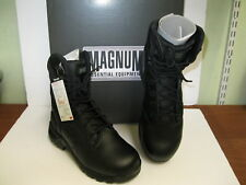 Men Black Magnum Lace Up Boots Strike Force II