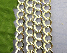 Wholesale Mixed Lots Chains Findings Silver Tone  9mm x7mm