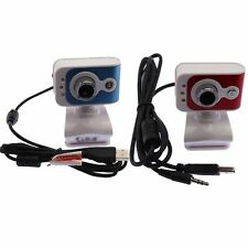 USB 2.0 PC Webcam Camera 12.0 Mega Pixel with Microphone Skype MSN Calls Gaming