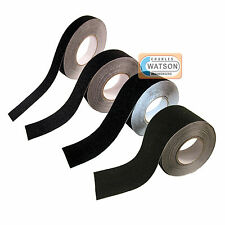 Black ANTI SLIP TAPE High Grip Adhesive Sticky Backed Non Slip Safety Flooring