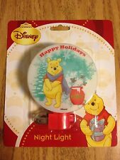 WINNIE THE POOH - HAPPY HOLIDAYS - CHRISTMAS NIGHTLIGHT - NEW