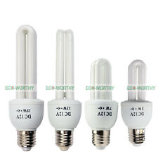 5W 7W 13W 15W 12VDC E27 CFL Fluorescent Energy Light Bulbs Energy Saving Light