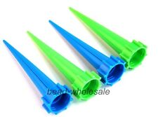 4 Pcs Cone Watering Spike Waterers Bottle Garden Plant Flower Irrigation System