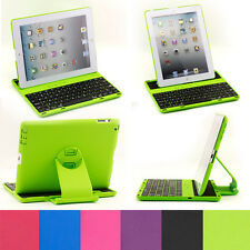 Bluetooth 360 Rotating Removable Keyboard Case Cover Stand for iPad 2 3 4
