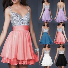 2014 Sweetheart Mini Evening Party Short Dress Homecoming Bridesmaid Prom Gowns