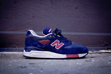 "NEW BALANCE ""MADE IN USA""  M998MB Navy/Burgundy nike flyknit roshe free kith"