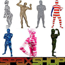 Full Body Spandex Lycra Suit Party Costumes Zentai Camo Patterns Animals Cheap