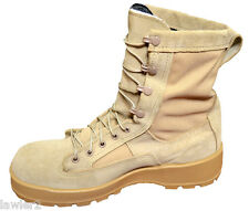 NEW WELLCO USGI GORETEX DESERT TAN ARMY COMBAT BOOTS DIFFERENT SIZES