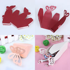 Butterfly Favor Gift Candy Boxes Cake Style for Wedding Party Baby Shower 50pcs