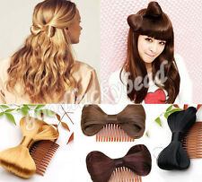 Fashion Womens Hair Bow Bowknot Clip-in Wig Hair Party Decor 7Colors U Pick