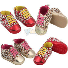 Lovely Leopard Printing Children Baby Toddler Soft Sole Cotton Walker Shoes