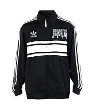 Brooklyn Nets MENS Full Zip Up Track Jacket Court Series by Adidas NWT