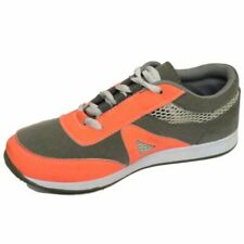 LADIES GIRLS GREY CASUAL GYM SPORTS RUNNING JOGGING TRAINERS SHOES SIZES 3-8