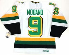 MIKE MODANO MINNESOTA NORTH STARS CCM VINTAGE WHITE JERSEY NEW WITH TAGS