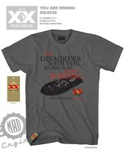XX Dos Equis You Are Wrong Charcoal Licensed T-Shirt DE7111MS - LARGE TALL