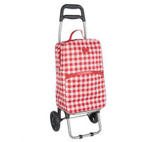 PULL BEHIND TWO WHEEL COLLAPSABLE CART W/ LARGE INSULATED COOLER BAG FROM SACHI