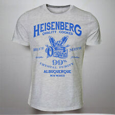 HEISENBERG BLUE CRYSTAL METH LAB TSHIRT TSHIRTS WALTER INSPIRED BY BREAKING BAD