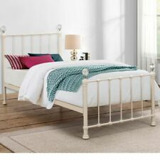 Happy Beds Jessica Metal Bed Crystal Finials Bedroom Furniture Home Mattress New