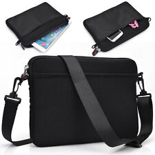 "Kroo K1a Protective Shoulder Messenger Bag Travel Case Cover for 7"" Tablets"