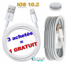 LOT CABLE USB CHARGEUR CHARGER iPHONE 6/ PLUS/ 5/S/C/ iPAD 4/Air/mini/  iTOUCH 5