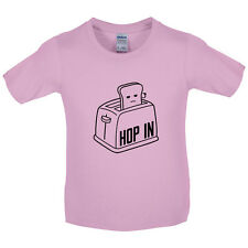 Toaster Hop In - Kids / Childrens T-Shirt - 8 Colours - Funny  - Present