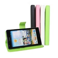 Stand Folio Wallet Leather Card Holder Protect Hard Case Cover For Huawei Series