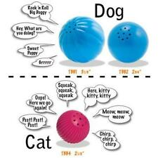 Babble balls Toys for Dogs & Cats - interactive toys - talk when touched - Fun !