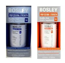Bosley Healthy Hair Vitality Supplement - Men or Women - growth of hair & nails