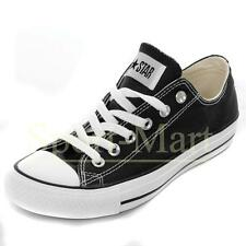 Mens, Womens Converse All Star Low Black Canvas Pumps Trainers Mens Size