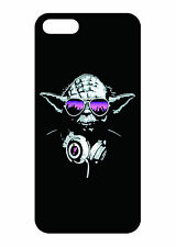 Cool star wars DJ Yoda graphic case for iphone 6 or 5S / 5 / 5C or 4S / 4