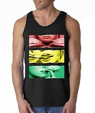 Blunt Roll Colorful TANK TOP sexy girl rolling blunt roll up weed joint 420 tee