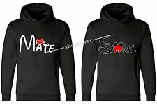 Valentines Day Gifts COUPLE HOODIE - Soul & Mate - Cartoon Character CIT