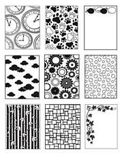 1 DARICE Prägeschablone EMBOSSING FOLDER für Cuttlebug BIG SHOT 1752-1804