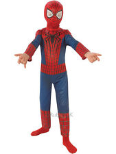 Child Marvel Amazing Spiderman 2 Outfit Fancy Dress Costume Superhero Kids Boys