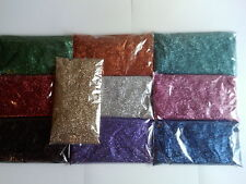 100 grams Glitter refill pack for tattoos / many uses  silver red blue gold
