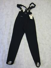 FUS EUROP LYCRA SKI PANTS Womens Stretch tight Fit Leggings Stirrup Strapped