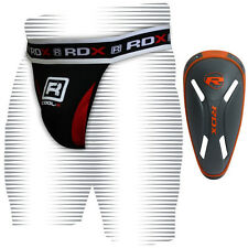 RDX Pro Jock Strap Supporter & Gel Groin Cup Guard MMA Shorts Boxing Muay Thai c