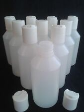 3 - 250  x  50 ml Disc top lid bottle  Ideal make up / hobby / craft / travel