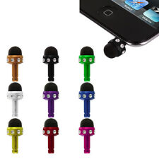 Color Stylus Pen Mini Headset Jack Plug for Cell Phones Tablets