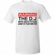 DJ with Attitude! Mens T Shirt, Dance, Hip hop music Clothing t shirts, Tops