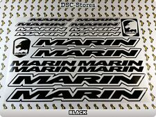 "18 Set MARIN Bikes Bicycles Decals Stickers Frames 11"" COLORS Available A58U"