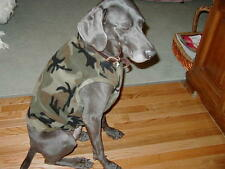 CAMO  DOG SWEATER-VEST up to size XXL