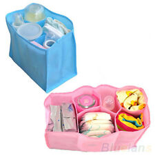 Diaper Bag Baby Nappy Bottle Clothes Storage Organizer Mother Bag Travel Size B2