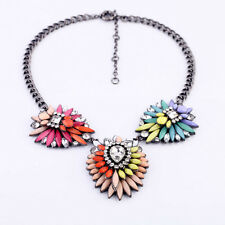 fashion beautiful Occident style hyperbole luxury Crystal alloy charms Necklace