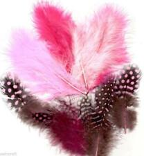 FEATHERS MARABOU & GUINEA MIX - PACK OF18 Various Colours Available 12228-28