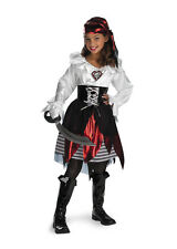 Pirate Lass Deluxe Child Girls Costume