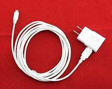 OEM Samsung 2A AC DC Home Wall Battery Charger w 10 Ft Long Micro USB Sync Cable