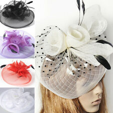 brand new lady hair clip fascinator large hat races hens party accessory gift