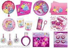Disney Princess Supplies Tableware Decorations Favours Confetti Balloons PS