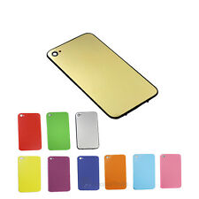 New Full Back Door Glass Cover Replacement fr iPhone 4G GSM CDMA iphone 4S color